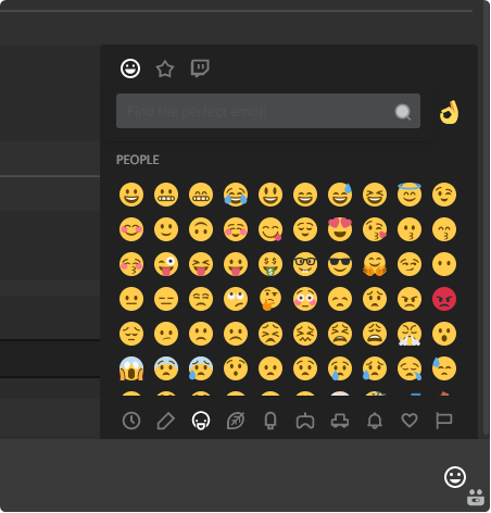 how to create new emojis discord private messages